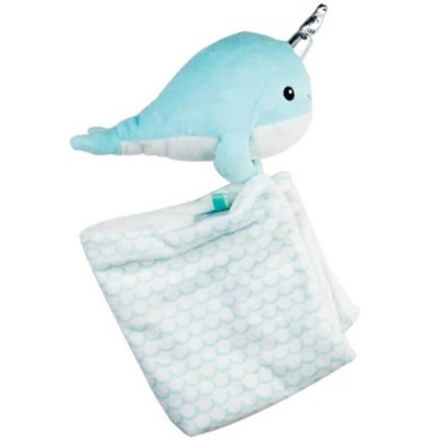Bubble Comforter - Tusky the Narwhale