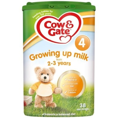 Cow & Gate Growing Up Milk 4 from 2-3 Years 800g