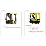 Ridesafer Delight Travel Vest GEN 5 - Small Yellow