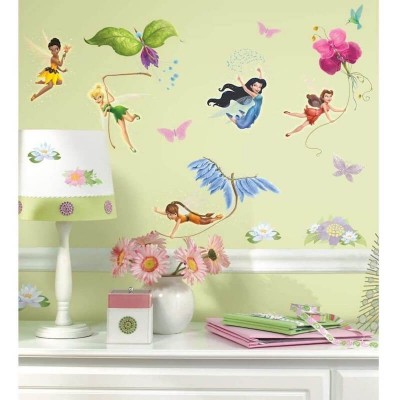 RoomMates Disney Fairies Wall Decals - RMK1493SCS