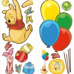 RoomMates Disney Winnie The Pooh & Piglet Peel and Stick Giant Wall Decal