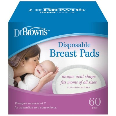 Dr Brown's Disposable Breast Pads 60-Pack