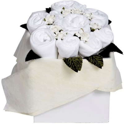 Dotty Bee Blossom Box - White