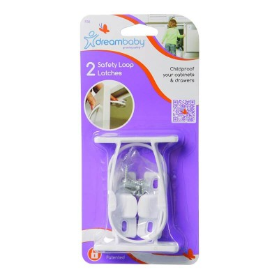 Dreambaby Safety Loop Latches (Pack of 2)