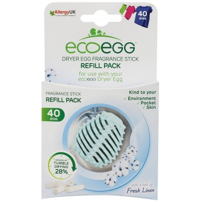 ecoegg Dryer Egg Refills (40 Dries) - Fresh Linen
