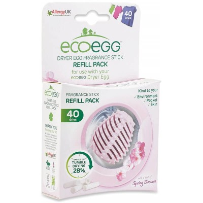 ecoegg Dryer Egg Refills (40 Dries) - Spring Blossom