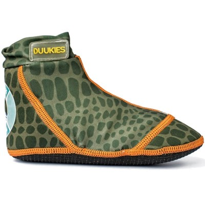 Duukies Beachsocks - Green Croc