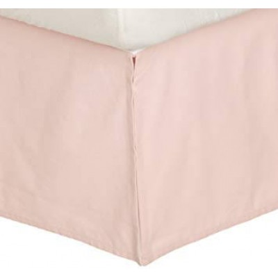 "Dwell Studio Soft Pink Crib Skirt 12"" Drop"