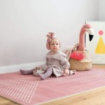 Toddlekind Prettier Playmat 120x180cm - Earth Collection - Ash Rose
