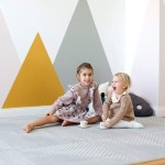 Toddlekind Prettier Playmat 120x180cm - Earth Collection - Dove