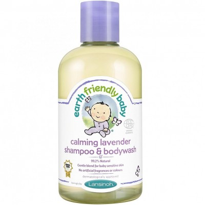 Earth Friendly Baby Calming Lavender Shampoo & Bodywash 250mL