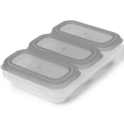 Skip Hop Easy-Store Containers 4oz - Grey