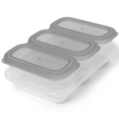 Skip Hop Easy-Store Containers 6oz - Grey
