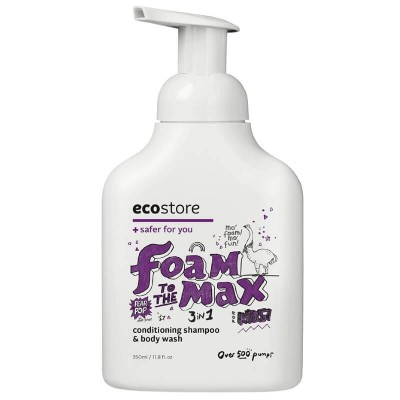 Ecostore Kids 3-in-1 Conditioning Shampoo & Body Wash - Pear Pop 350ml
