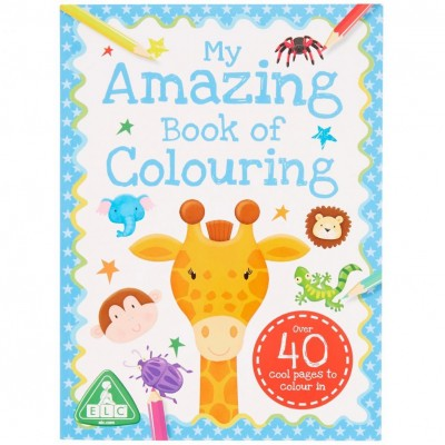 ELC My Amazing Book Of Colouring