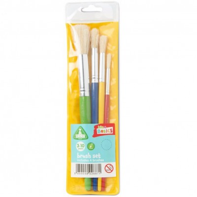 ELC Paint Brush Set - 4 Pack