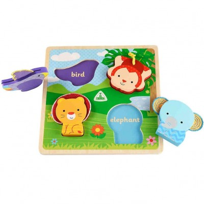 ELC Touch and Feel Wooden Puzzle