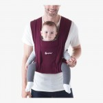 Ergobaby Embrace Cozy Newborn Carrier - Burgundy