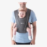 Ergobaby Embrace Cozy Newborn Carrier - Heather Grey