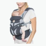 Ergobaby All-In-One OMNI 360 Baby Carrier - Cool Air Mesh - Carbon Grey