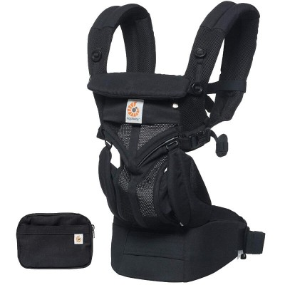 Ergobaby All-In-One OMNI 360 Baby Carrier - Cool Air Mesh - Onyx Black