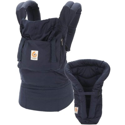 Ergobaby Bundle of Joy (ORGANIC Carrier with Infant Insert) - Navy/Midnight