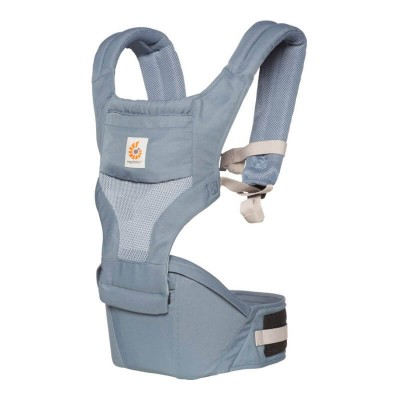 Ergobaby Hipseat 6 Position Carrier - Cool Mesh - Oxford Blue