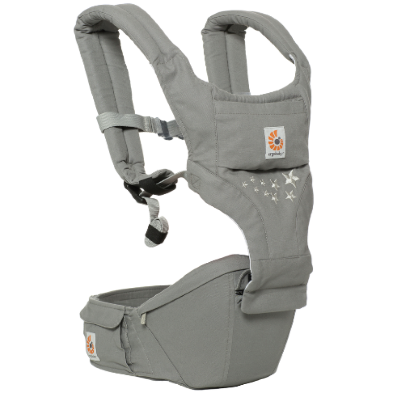 d553b111d7b Ergobaby Hipseat 6 Position Carrier - Galaxy Grey