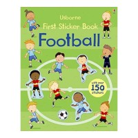 Usborne First Sticker Book Football