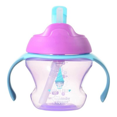 Tommee Tippee First Straw Cup 150ml (9m+) - Pink