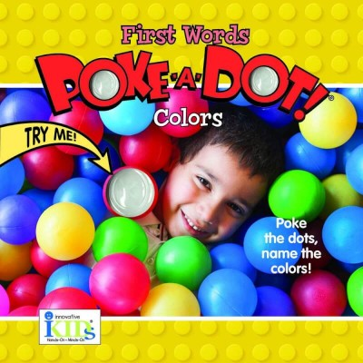 Innovative Kids First Word Poke-A-Dot - Colors