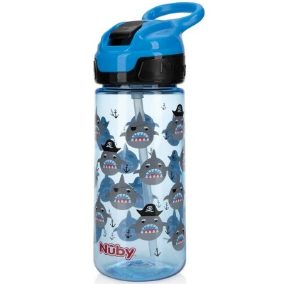 Nuby Thirsty Kids Flip-It Reflex Sports Cup 18oz/540ml - Blue