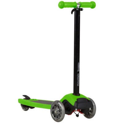 Mountain Buggy Freerider Scooter with Stroller Board Universal Connector - Lime