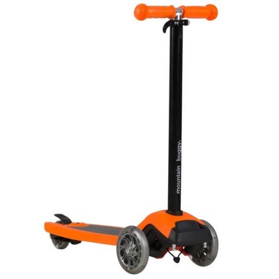 Mountain Buggy Freerider Scooter with Stroller Board Universal Connector - Orange