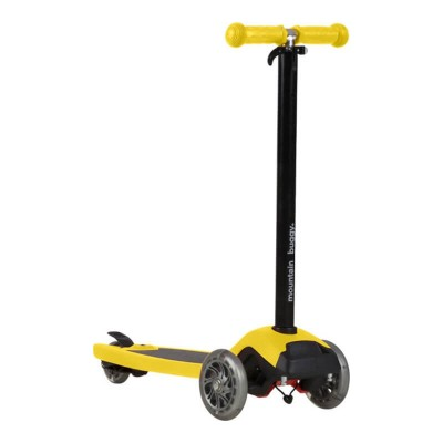 Mountain Buggy Freerider Scooter with Stroller Board Universal Connector - Yellow