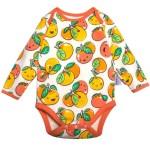 Ganas Kids Lucky Little Mandarin Long Sleeve Bodysuit