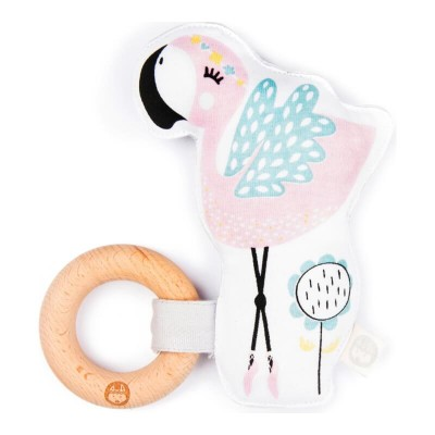 Kippins Kiplet Baby Rattle - Coco 2