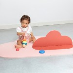 Quut Toys Head In The Clouds Playmat (Small 145 x 90cm) - Blush Pink
