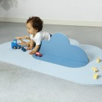 Quut Toys Head In The Clouds Playmat (Small 145 x 90cm) - Dusty Blue