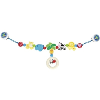 Heimess Pram Chain with Clips - Africa