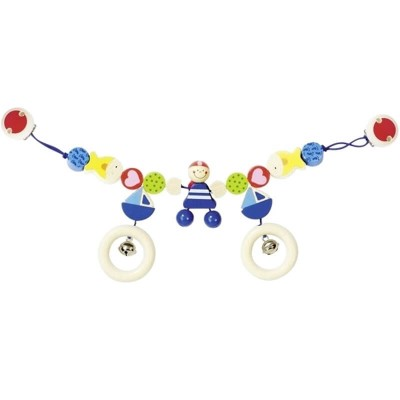Heimess Pram Chain with Clips - Pirate