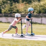 Scoot & Ride HighwayKick 3 (3 year+) (3 Wheels) - Steel with LED