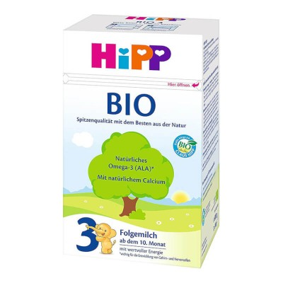 HiPP (Germany) BIO Stage 3 (10-12 months) - 800g
