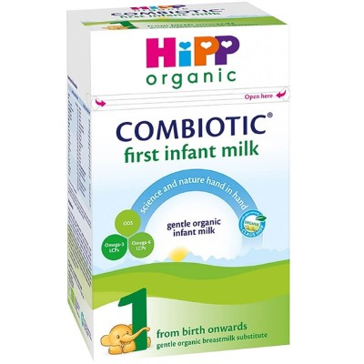 HiPP (UK) Organic Combiotic First Infant Milk Stage 1 (0-6 months) 800g