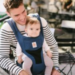 Ergobaby Hipseat 6 Position Carrier - Cool Mesh - Raven
