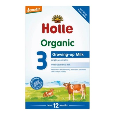 Holle Organic Growing Up Formula 3 - 600g (12 mos+)