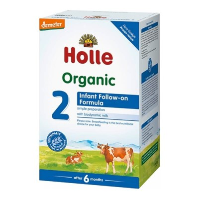 Holle Organic Infant Follow-On Formula 2 - 600g (6 mos+)