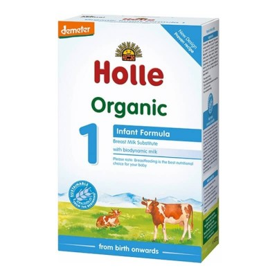 Holle Organic Infant Formula 1 - 400g (0 mos+)