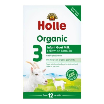 Holle Organic Infant Goat Milk Follow-On Formula 3 - 400g (12 mos+)