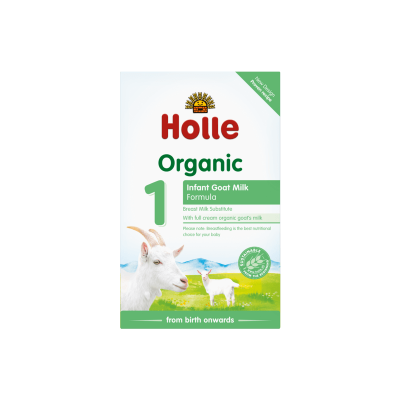 Holle Organic Infant Goat Milk Formula 1 - 400g (0 mos+)